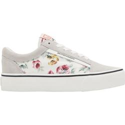 Sneaker Blumen BK, weiß, Gr. 41 - 41 - weiß
