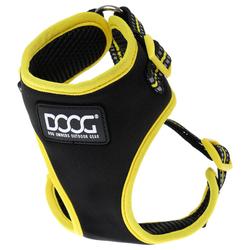 DOOG Neon Geschirr Bolt black/yellow, Größe: XL