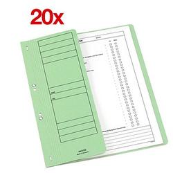 20 Ösenhefter grün DIN A4
