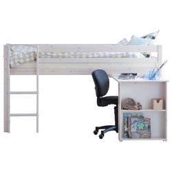ebuy24 Kinderbett Flexa Basic Hit Kinderbett halbhohes Bett 90x200 m