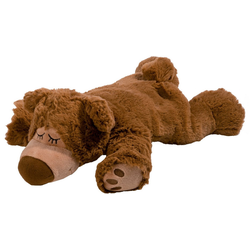 Warmies® Wärmekissen Sleepy Bear braun, Lavendel
