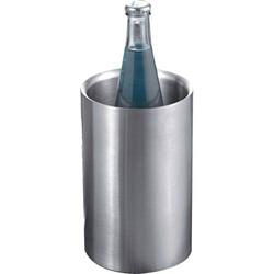 Flaschenkühler für 0,75l Flaschen edelstahl