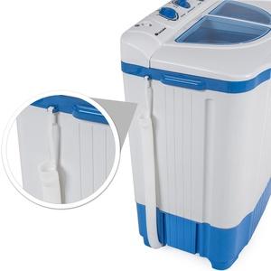 Mini-Waschmaschine 4,5 kg mit Wäscheschleuder 3,5 kg - weiß