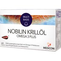 Medicom Pharma Nobilin Krillöl Omega 3 Plus Kapseln 60 St.