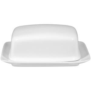 Seltmann Weiden COMPACT weiß uni Butterdose für 250 g Stücke