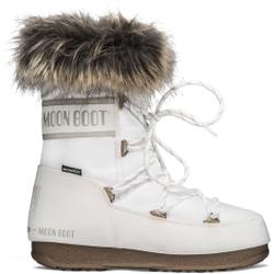 Moon Boot - Moon Boot Monaco Low WP 2 White - Après-ski - Größe: 37