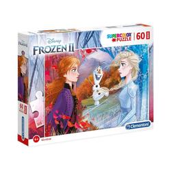 Clementoni® Puzzle Puzzle 60 Teile Maxi Die Eiskönigin 2, Puzzleteile