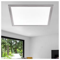 EGLO LED Panel, LED Aufbau Panel ALU Decken Lampe Ess Zimmer Raster Leuchte DIMMBAR Eglo 97637