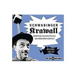 Schwabinger Krawall  1 Audio-CD - Hörbuch