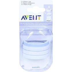 AVENT Flaschen Adapter-Ring für PP Flaschen 3 St