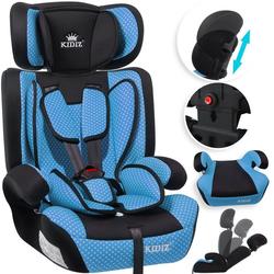 KIDIZ Autokindersitz, Kinderautositz Kindersitz Autositz Sitzschale 9 kg - 36 kg 1-12 Jahre Gruppe 1/2/3 universal zugelassen nach ECE R44/04 6 verschiedenen Farben blau
