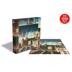 empireposter Puzzle Pink Floyd Animals - 1000 Teile LP Cover Puzzle im Format 57x57 cm, 1000 Puzzleteile