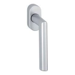 Hoppe Fenstergriff Ams.0400/US956 Alu.F1 32-42mm Secustik®/VarioFit®