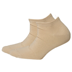 Esprit Sneakersocken Sneaker Damen Set 2 Paar Uni Sneaker Socks natur