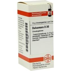 DULCAMARA D 30 Globuli 10 g