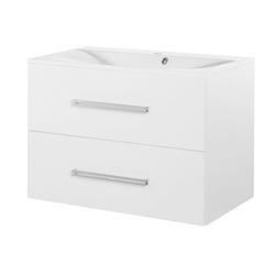 FACKELMANN Waschtisch Como, Breite 80 cm weiß
