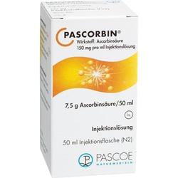 PASCORBIN Injektionsloesung (7.5g Ascorbinsäure)