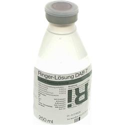 RINGER LÖSUNG DAB 7 Plastik 250 ml