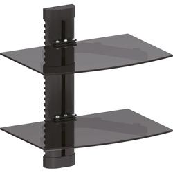 InLine® Wandhalterung, für DVD, Bluray, Sat-Receiver, bis 8kg, schwarz