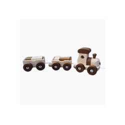 goki Spielzeug-Zug Zug Amsterdam, goki nature, (13-tlg), Made in Europe