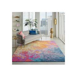 Teppich Passion 10, Nourison, rechteckig, Höhe 9 mm, Wohnzimmer 244 cm x 305 cm x 9 mm