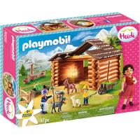 Playmobil Heidi Peters Ziegenstall 70255