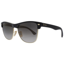 Ray-Ban Clubmaster Oversized 4175 877/M3 5716 Demi Gloss Black Sonnenbrille