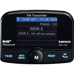 Lenco DAB+ Autoradio-Transmitter DAC-100 sw