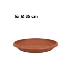 HTI-Living Pflanzkübel Untersetzer 33 cm (1 Stück) orange