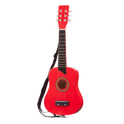 New Classic Toys Gitarre - DeLuxe - Rot