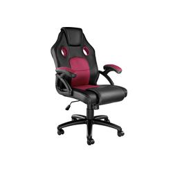 tectake Gaming-Stuhl Bürostuhl Mike rot