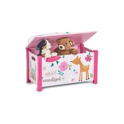 HTI-Living Sitztruhe Sitztruhe Spielzeugkiste rosa
