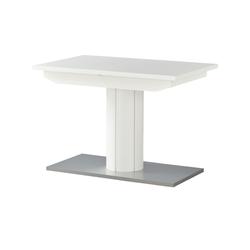 Säulentisch, ausziehbar  E30 ¦ weiß