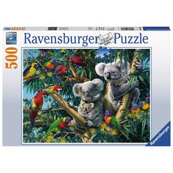 Koalas im Baum - Puzzle mit 500 Teilen