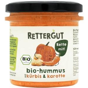 Rettergut Hummus Kürbis & Karotte Aufstrich bio