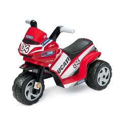 Peg Perego Elektrofahrzeug Dreirad Mini Ducati