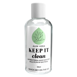 Keep It Clean Aloe Vera Antibacterial Hand Sanitizer (50 ml)