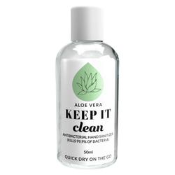 Keep It Clean Aloe Vera Antibacterial Hand Sanitizer (50 ml)