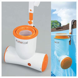 BESTWAY Pool-Filterpumpe Bestway Flowclear Skimatic 2-in-1 Einhängeskimmer