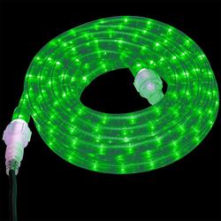 Deko LED-Lichtschlauch ELVIS 6m grün