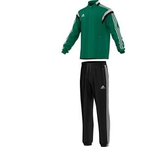 Adidas Condivo 14 Präsentationsanzug ,Top: Twilight Green/White/Black; Bottom: Black/White,S