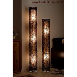 Extra hohe Stehlampe Stehleuchte Rattanlampe