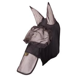 Fliegenmaske BR m/Ohre Mesh/Lycra Schwarz, BR17_Gr.: L