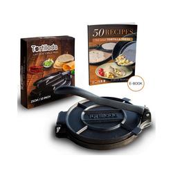 Tortillada Tortillaform 25cm Tortillapresse aus Gusseisen + Rezepte E-Book