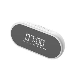 Baseus Baseus Encok 4in1 Wireless Lautsprecher Stereo Dual Wecker Bass AUX Micro SD TF Karte Wireless 1500mAh für allen drahtlosen Geräten Weiß Wireless Lautsprecher weiß