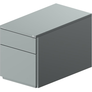 Rollcontainer OBA 1S1HR - Silber