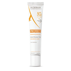 A-DERMA PROTECT unsichtbares Fluid LSF 50+ 40 ml