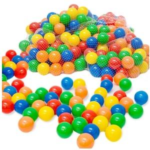LittleTom Bällebad-Bälle 50 - 10.000 Stück Bällebad Bälle Bällebadbälle, Bunte Farben Neuware Ball bunt