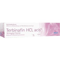 TERBINAFIN HCL acis 10 mg/g Creme 15 g