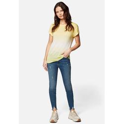 Mavi T-Shirt TIE DYE TOP Buntes Shirt gelb XL